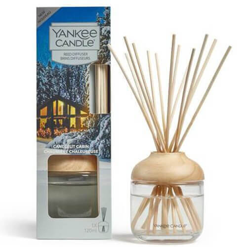 New Reed Diffuser Candlelit Cabin von Yankee Candle