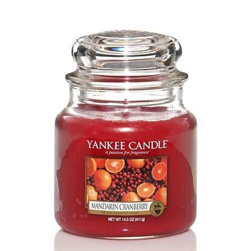 Yankee Candle Mandarin Cranberry 411g