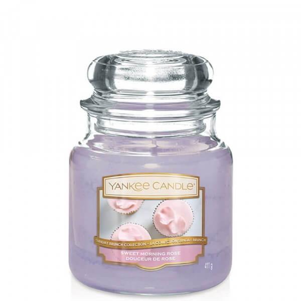 Sweet Morning Rose 411g von Yankee Candle