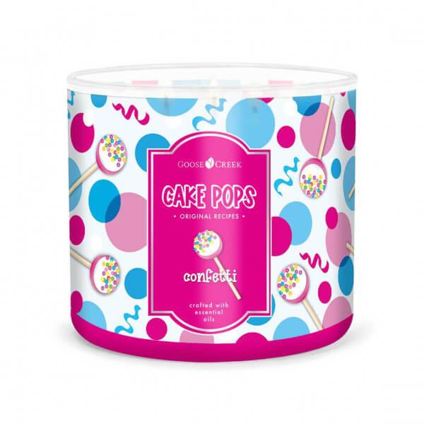 Confetti Cake Pop 411g (3-Docht)
