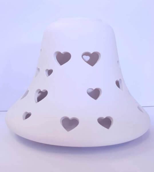Hearts - Kleiner Schirm für 104g Jar