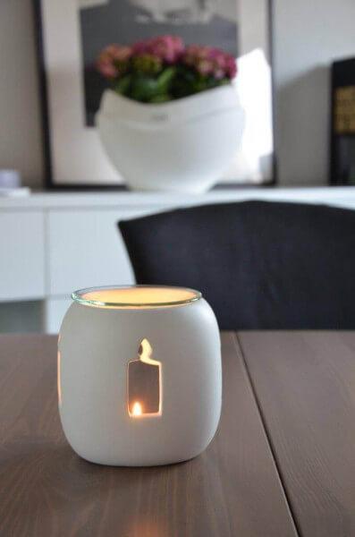 Duftlampe Singapur Kerze