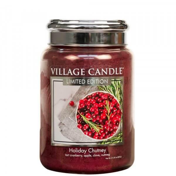 Holiday Chutney 626g von Village Candle