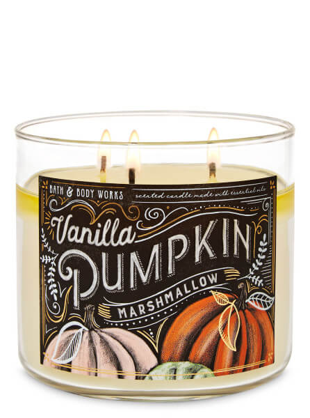 3-Docht Kerze - Vanilla Pumpkin Marshmallow - 411g