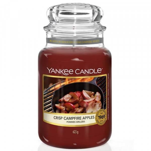 Crisp Campfire Apples 623g großes Glas von Yankee Candle