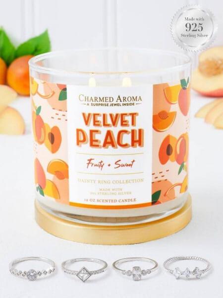 Velvet Peach (Ring) Candle