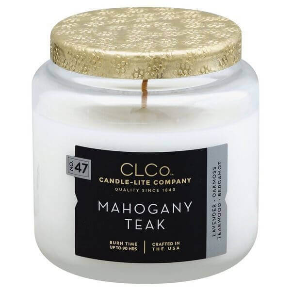 Candle-Lite Mahogany Teak