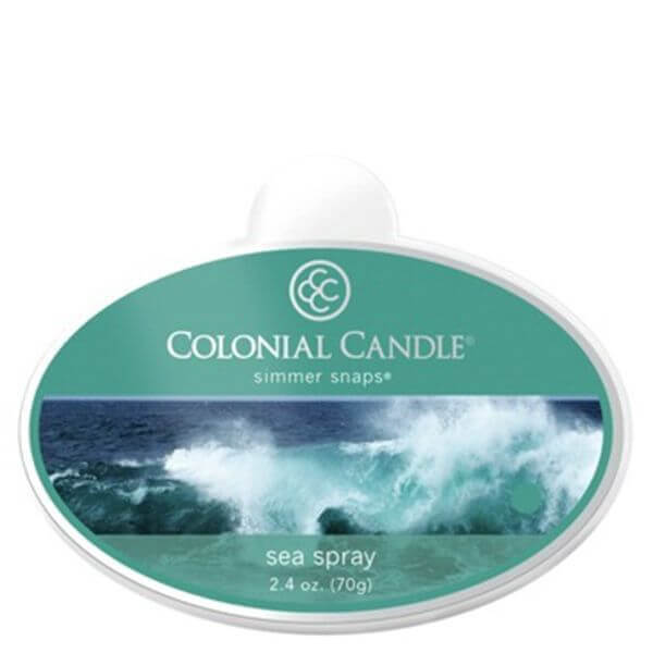 Colonial Candle Sea Spray Simmer Snaps 70g
