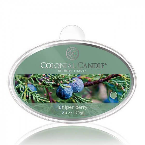 Colonial Candle - Juniper Berry Simmer Snap 70g