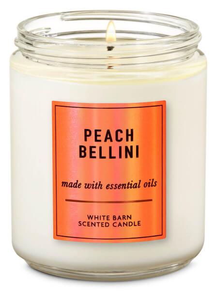 1-Docht Kerze - Peach Bellini - 198g