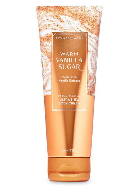 Body Cream - Warm Vanilla Sugar - 226g