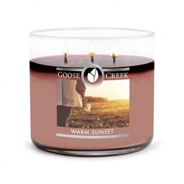 Goose Creek Candle Warm Sunset 411g 3-Docht