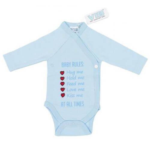 Baby Body Baby Rules: Hug Me, Hold me,... (Blau)
