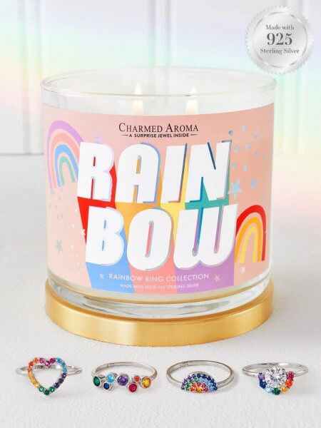Rainbow (Ring) Candle