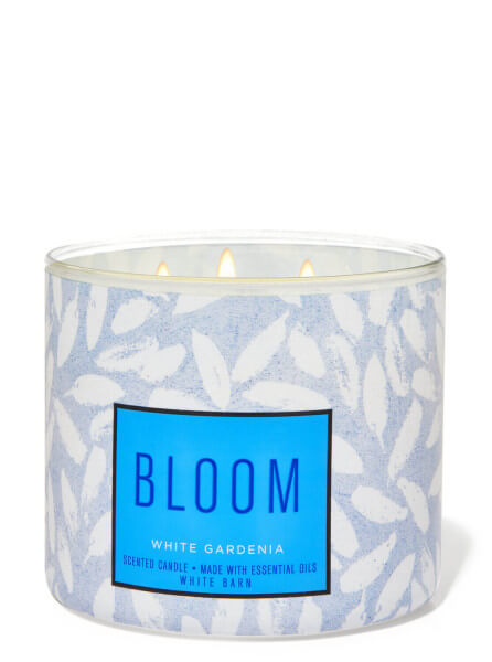 3-Docht Kerze - Bloom - White Gardenia - 411g