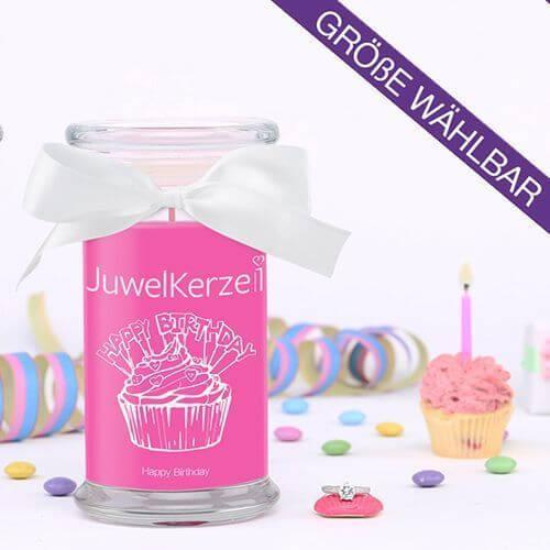 Happy Birthday 380g Mit Ring Von Juwel Kerze Online Bestellen