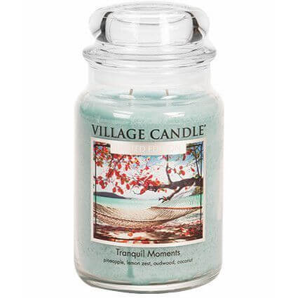Village Candle Tranquil Moments 626g