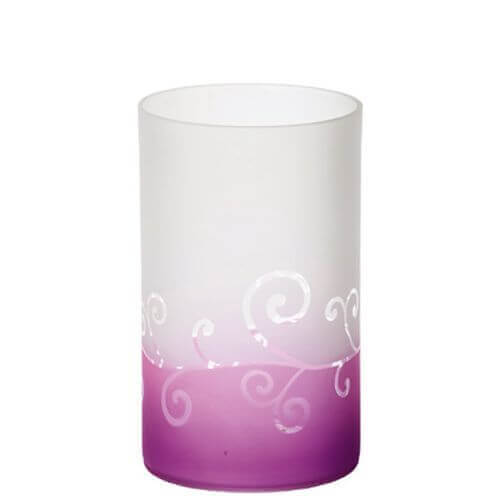 Yankee Candle Purple Scroll Jar Holder