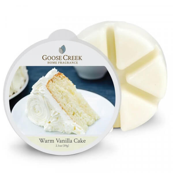 Warm Vanilla Cake 59g von Goose Creek Candle