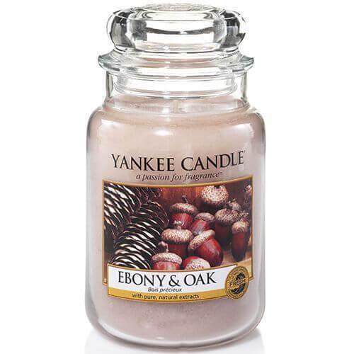 Yankee Candle Ebony & Oak 623g