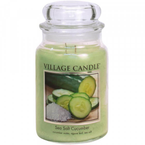 Sea Salt Cucumber 626g - Village Candle