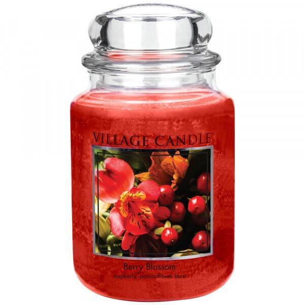 Village Candle Berry Blossom 645g