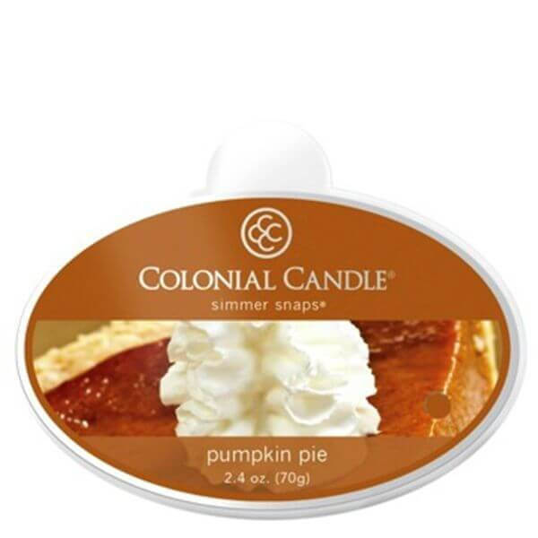 Colonial Candle Pumpkin Pie Simmer Snaps 70g
