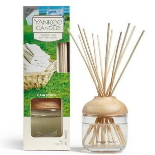 New Reed Diffuser Clean Cotton von Yankee Candle