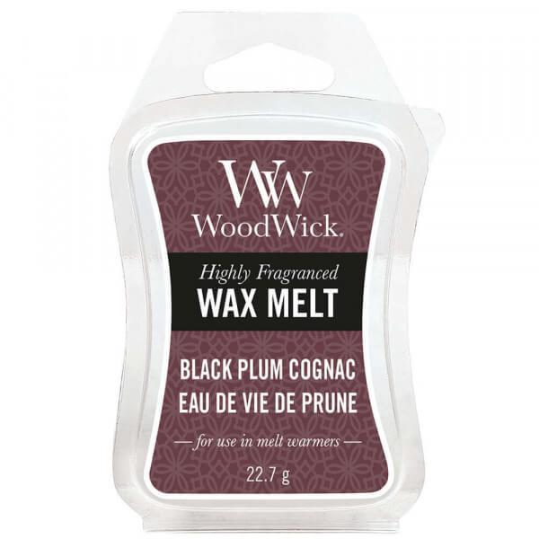 Black Plum Cognac Wax Melt 22,7g von Woodwick