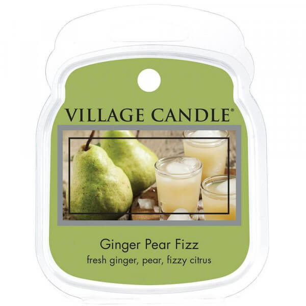 Village Candle Ginger Pear Fizz 62g