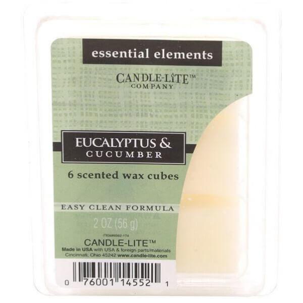 Eucalyptus & Cucumber 56g von Candle-Lite