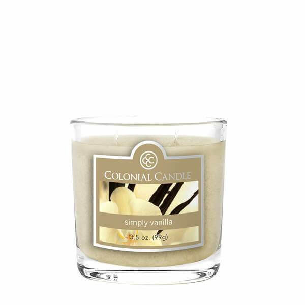 Colonial Candle Simply Vanilla 99g