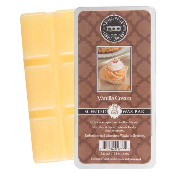 Vanilla Cream Wax Bar 73g - Bridgewater