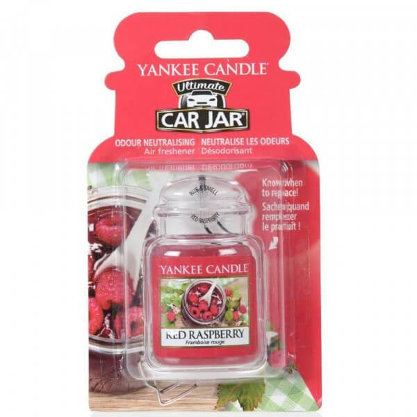 Yankee Candle Car Jar Ultimate Red Raspberry
