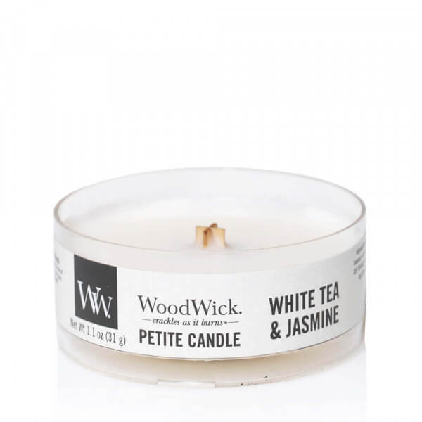 White Tea & Jasmine Petite Candle 31g von Woodwick