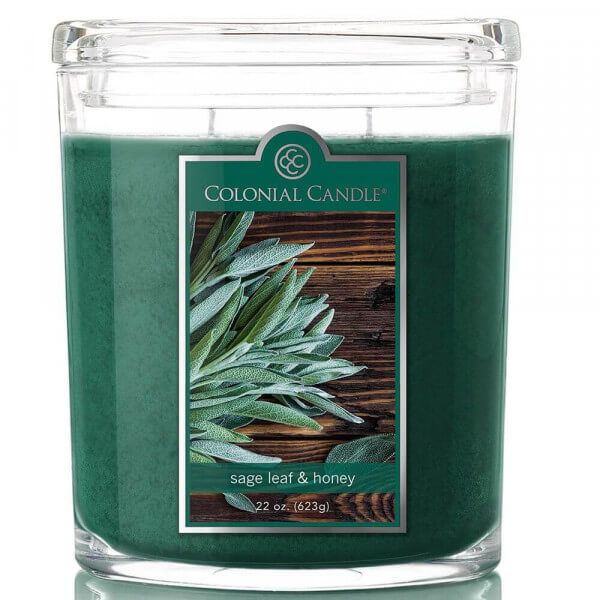 Colonial Candle - Sage Leaf & Honey 623g