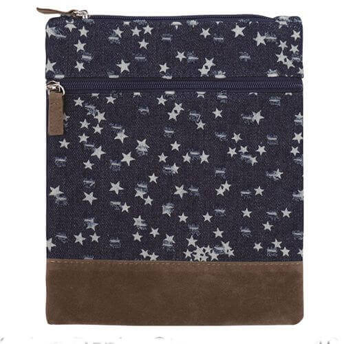 Canvas Crossbag 019 (Denim Star)