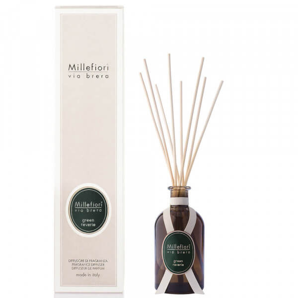 Green Reverie - Via Brera Diffuser 100ml - Millefiori