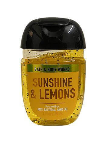 Hand-Desinfektionsgel - Sunshine & Lemons - 29ml