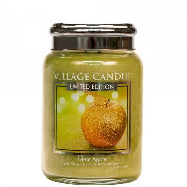 Glam Apple 626g von Village Candle