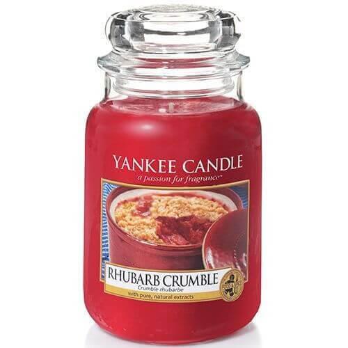 Yankee Candle Rhubarb Crumble 623g