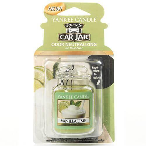Yankee Candle -Car Jar Ultimate Vanilla Lime