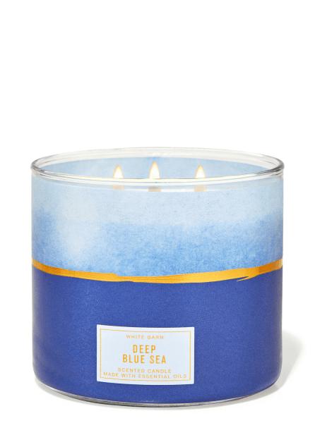 3-Docht Kerze - Deep Blue Sea - 411g