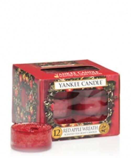 Yankee Candle Teelichte Red Apple Wreath