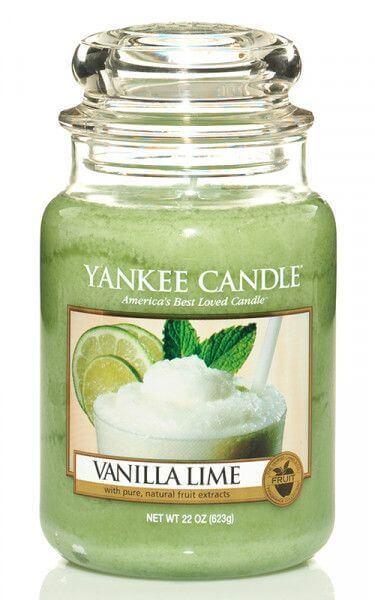 Yankee Candle Vanilla Lime 623g