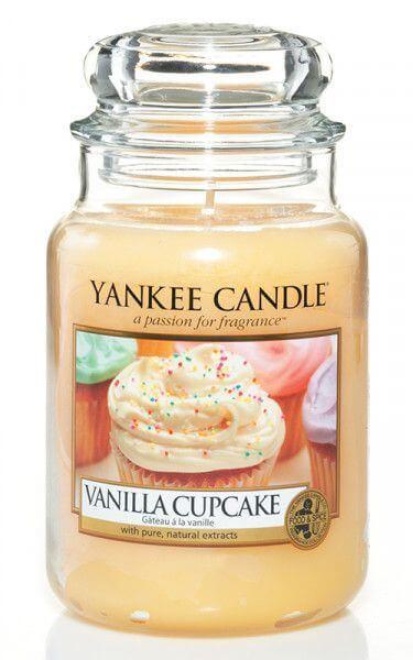 Yankee Candle Vanilla Cupcake 623g
