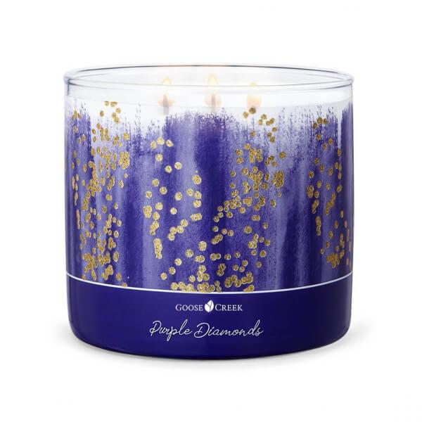 Purple Diamonds 411g (3-Docht)