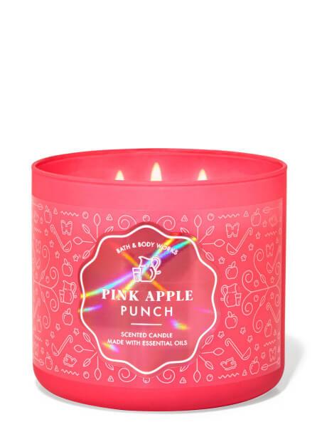 3-Docht Kerze - Pink Apple Punch - 411g