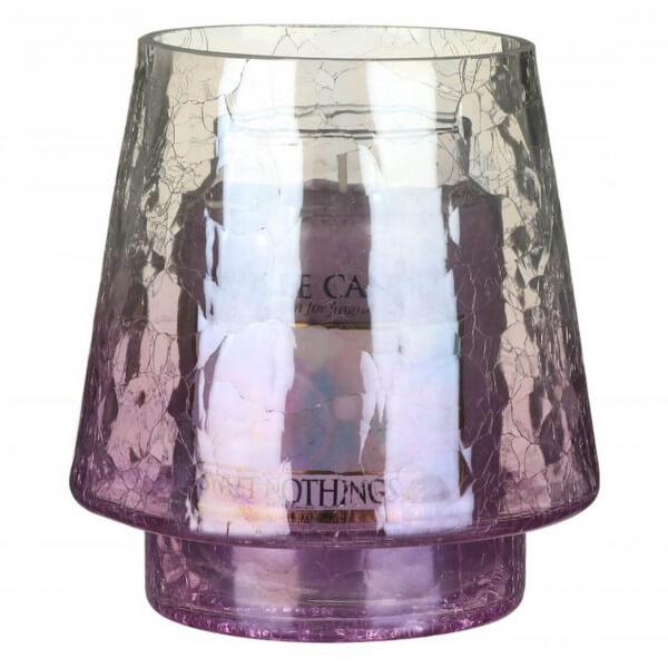 Savoy Purple Crackle Jar Sleeve