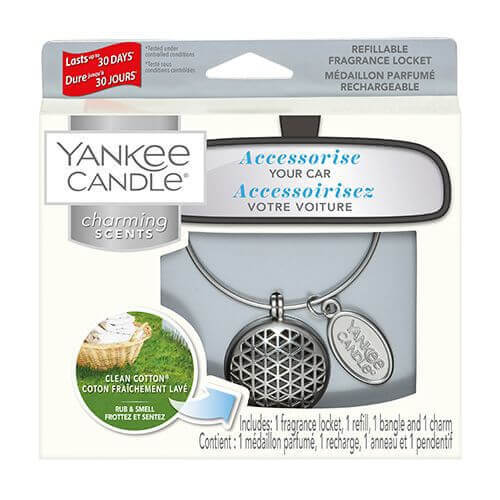 Yankee Candle - Clean Cotton Geometric 4-teiliges Starter-Set
